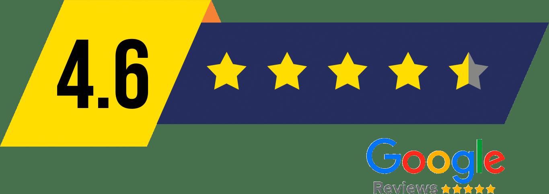 A IRPA Recuperadora tem a avaliação de 4.6 no Google Review.